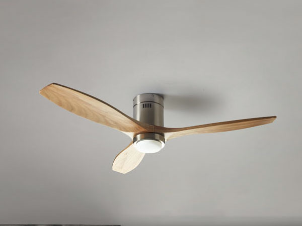 designer fans with light