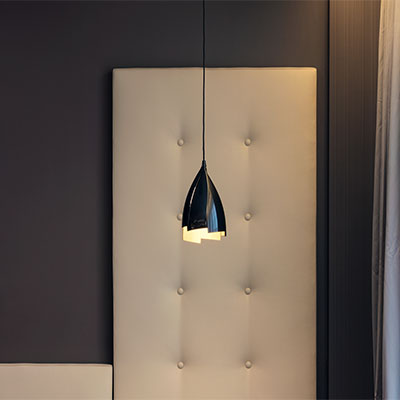 suspended light
